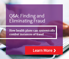 Finding an Eliminating Fraud