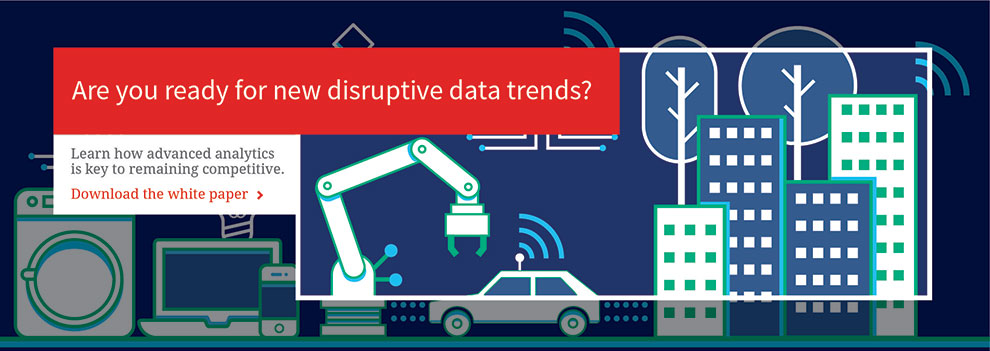 Are you ready for new disruptive data trends?