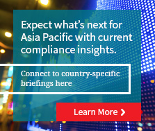 Current state of compliance in Singapore, Hong Kong, China, and Malaysia